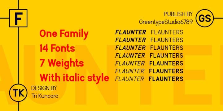 Flaunters Sans Serif Font-2