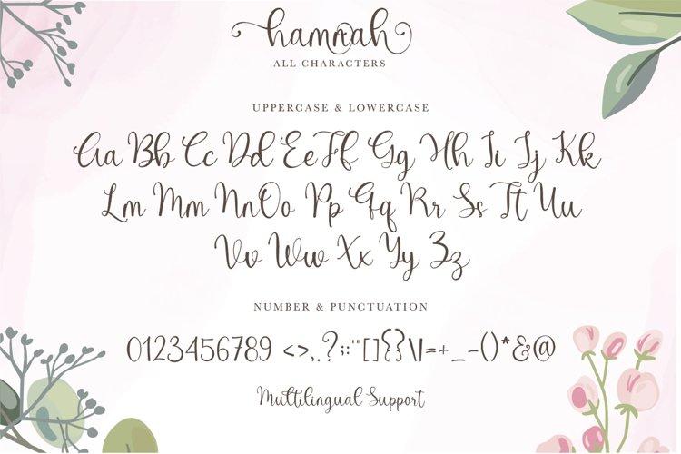 Hello Hamna Font-3