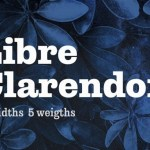 Libre Clarendon Slab Serif Font Family