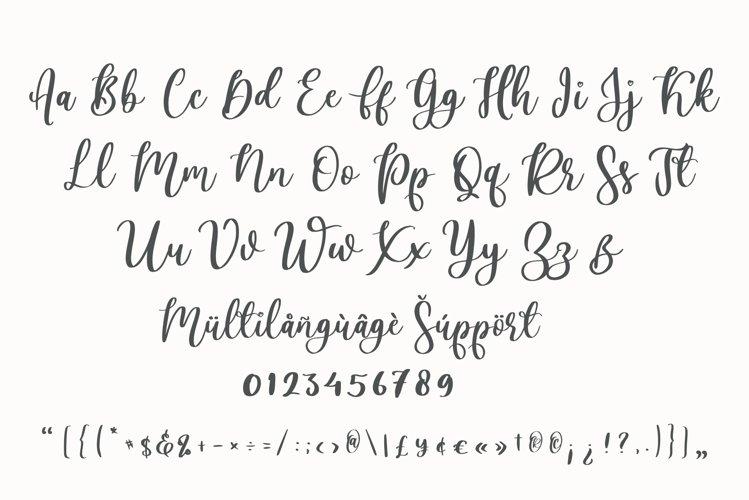 Lovely Ampersand Font-3