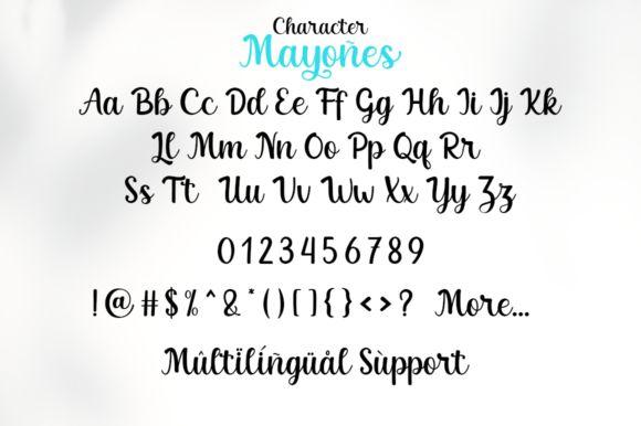 Mayones Font-4