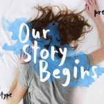 Our Story Begins Brush Font