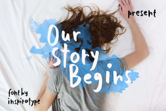 Our Story Begins Brush Font-1