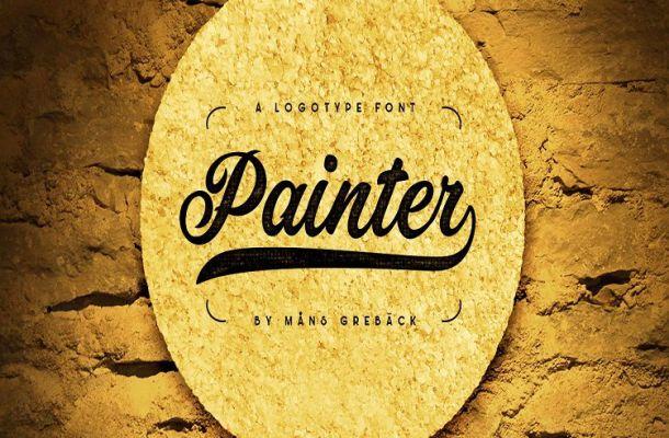 Painter Bold Script Font-1