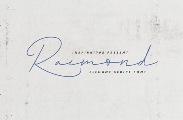 Raimond Elegant Signature Font