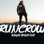 Runcrow Brush Font