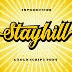 Stayhill Bold Script Font