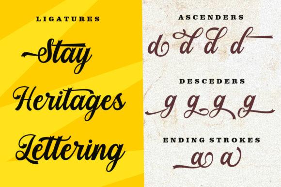 Stayhill Script Font-2