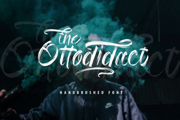 The Ottodidact Brush Font