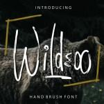 Wildeoo Hand Brush Font