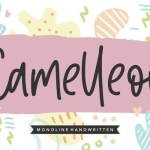 Camelleon Handwritten Font
