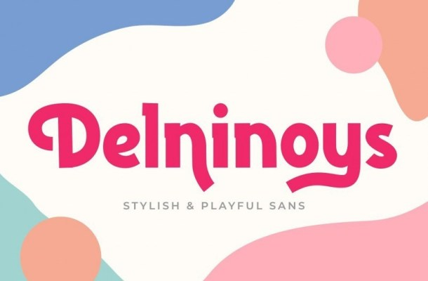 Delninoys Display Font