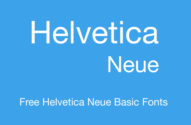 Helvetica Neue Free Alternatives