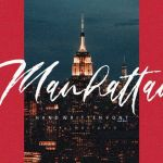 Manhattan Brush Font