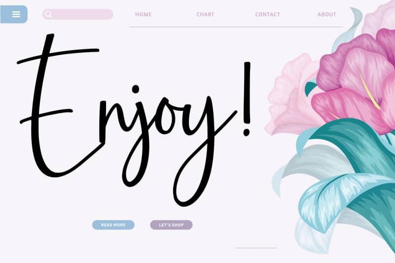 marylli Blossom Handwritten Font-2