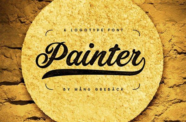 Painter Bold Script Font