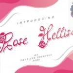 Rose Hellisa Calligraphy Font