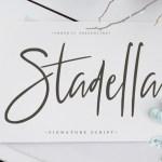 Stadella Signature Script Font