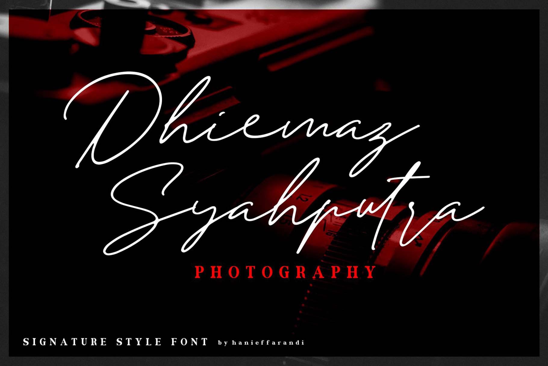 Andellia Davilton Signature Font-3