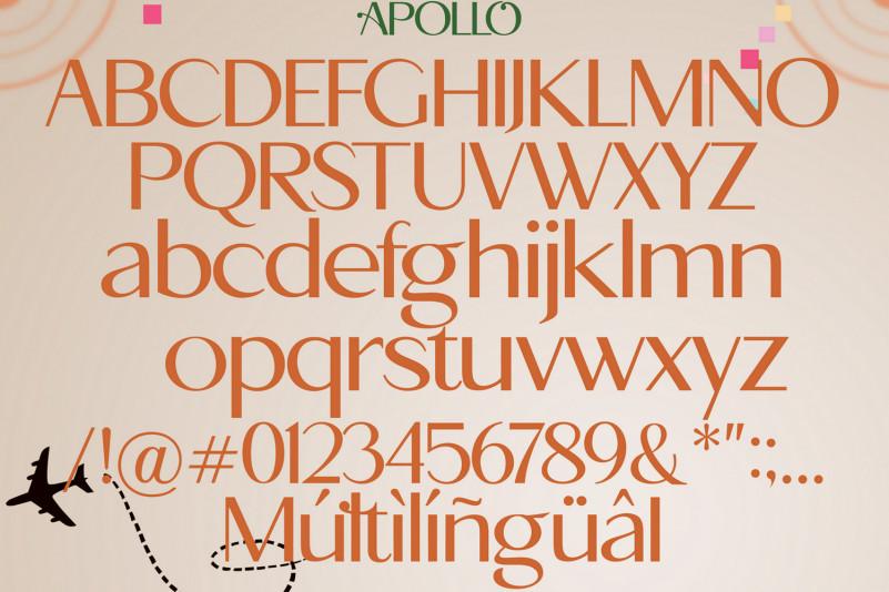 Apollo Sans Serif Font-3