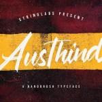 Austhind Brush Font