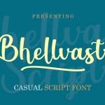 Bhellvast Casual Script Font