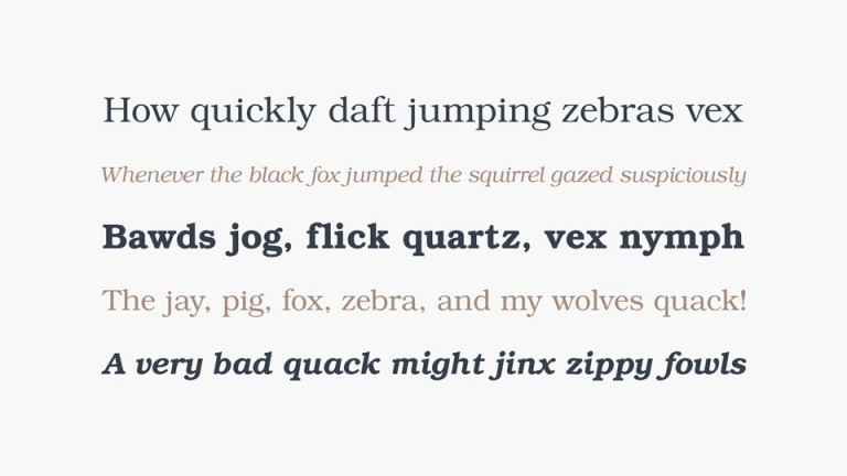 Bookman Slab Serif Font-2