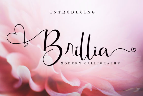 Brillia Modern Calligraphy Font
