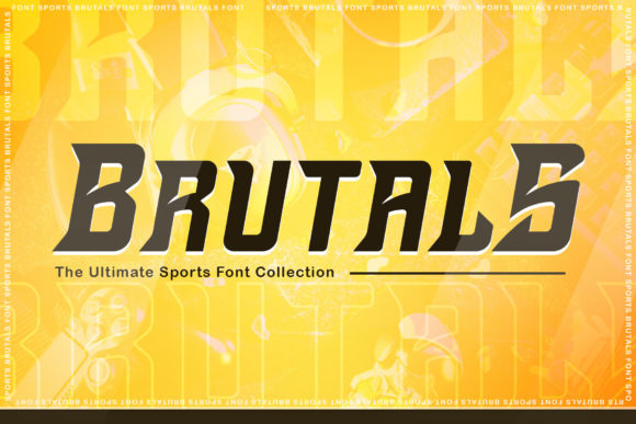 Brutals Display Font-1