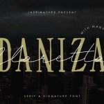 Daniza Claretta Signature Font