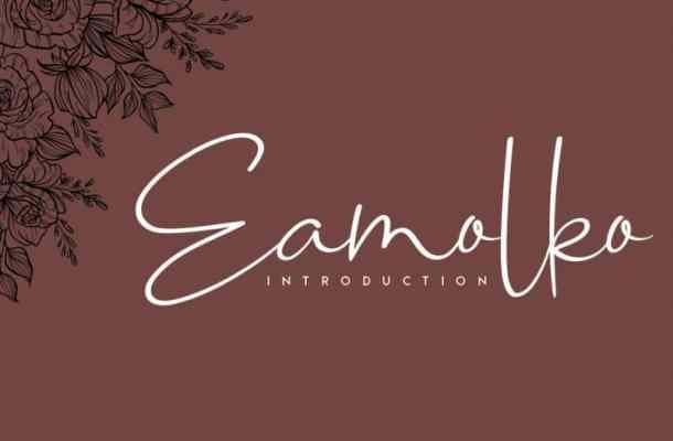 Eamolko Handwritten Font