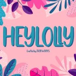 Heylolly Display Font