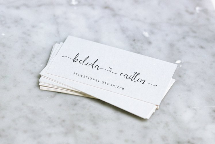 Jeliya Elbern Calligraphy Font-2