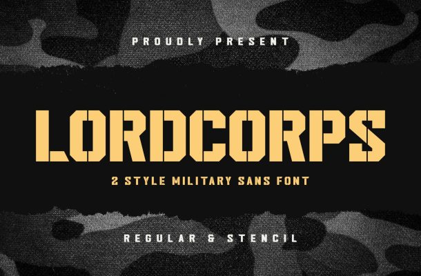 Lordcorps Font