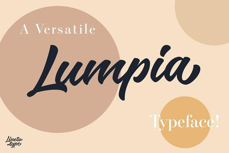 Lumpia Brush Script Font-1