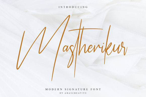 Mastherikur Signature Font
