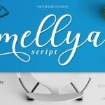 Mellya Calligraphy Script Font