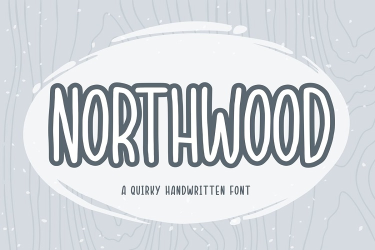 Northwood Quirky Handwritten Font-1