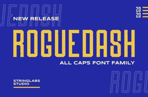 Roguedash Stylish Sans Font Family