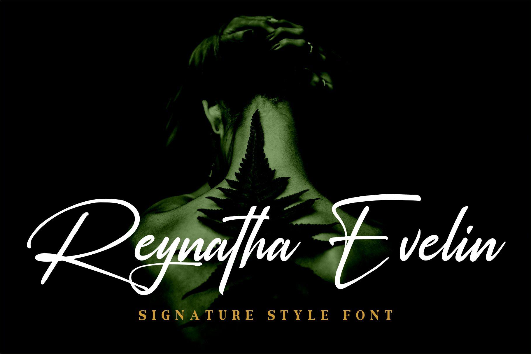 Rosellinda Alyamore Signature Font-3