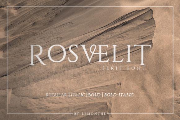Rosvelit Serif Font Family