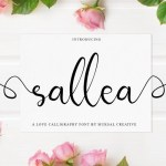 Sellea Modern Calligraphy Font