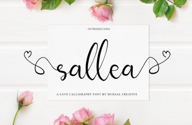 Sellea Modern Calligraphy Font