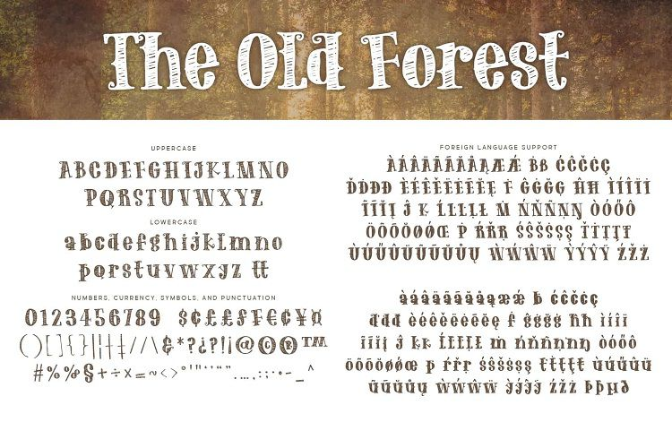 The Old Forest font-2