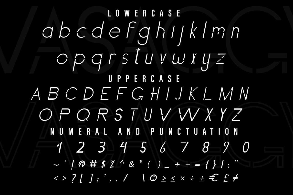 Vasaggy Sans Serif Font-3