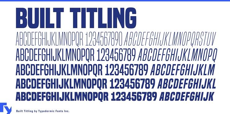 built-titling-font-1