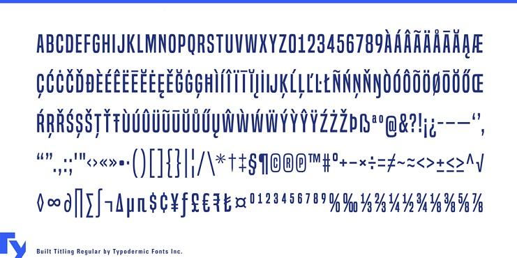built-titling-font-3