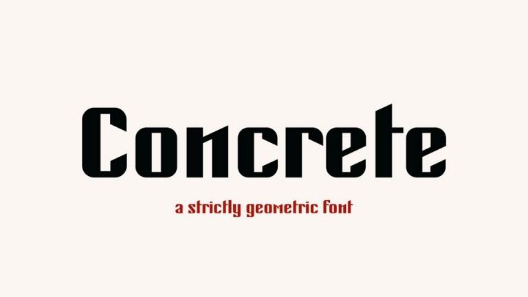 concrete-font-1