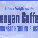 Kenyan Coffee Sans Font Family