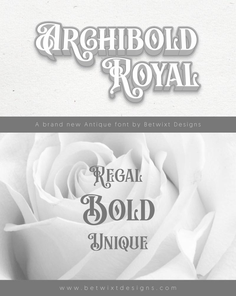 Archibold Royal Display Font-1